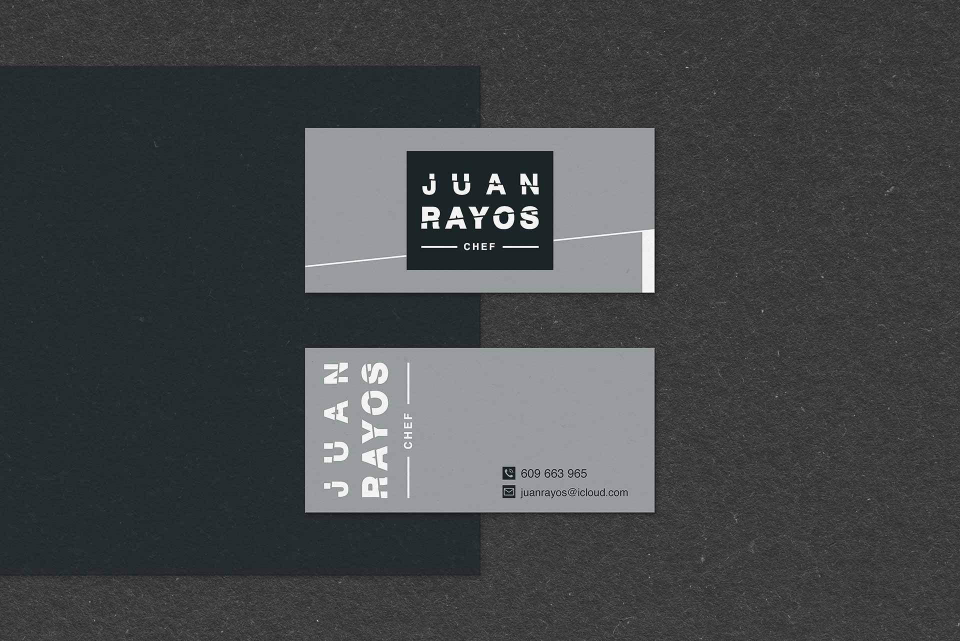 tarjetas de visitas elemento grafico