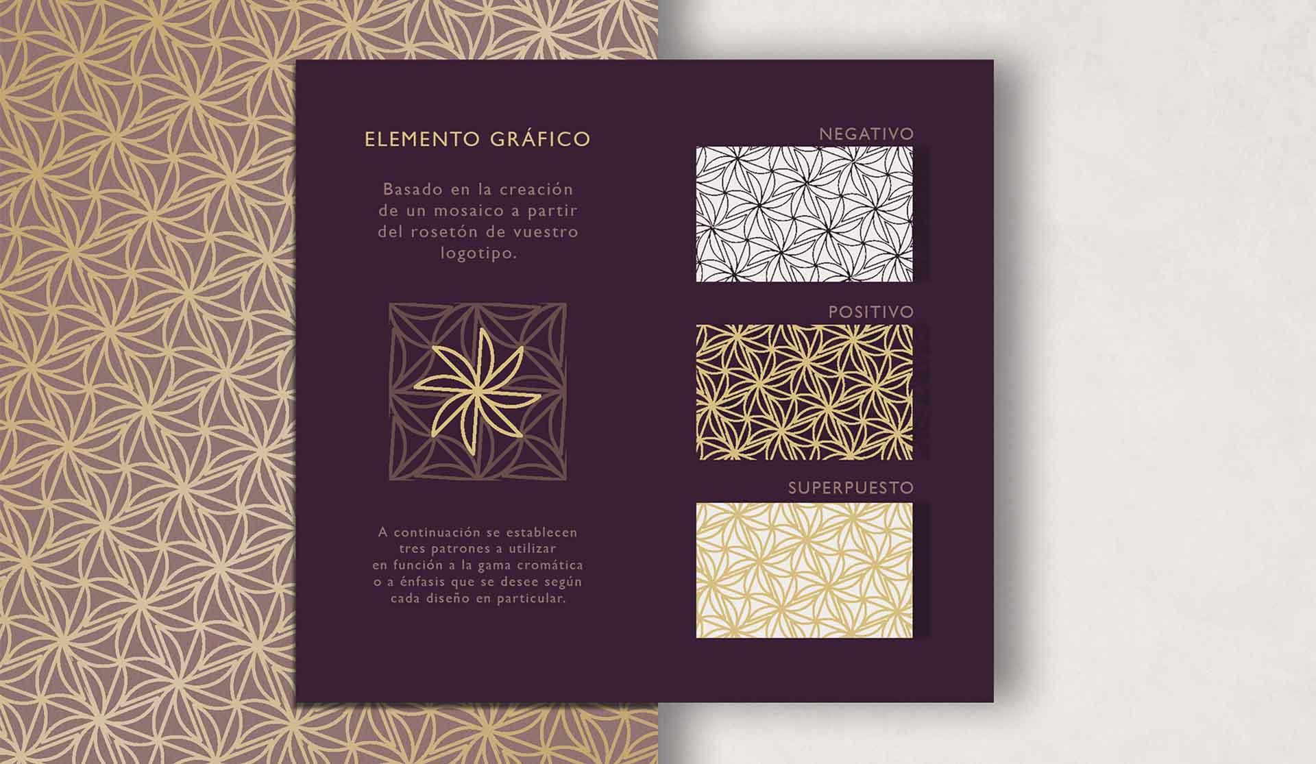 elemento grafico mosaico